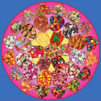 Fabulous Fifties Candy Mandala