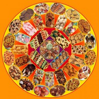 Fabulous Fifties Cookie Mandala